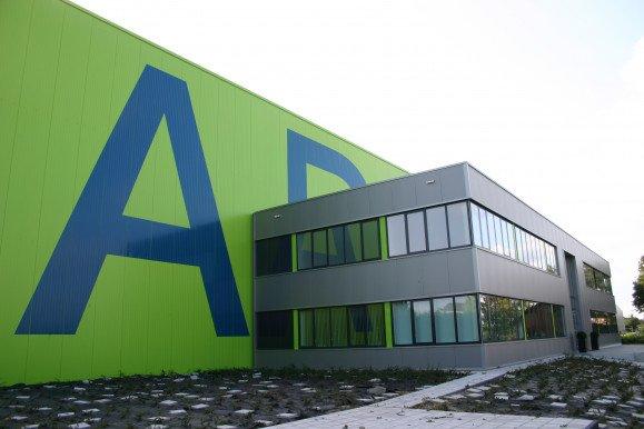 Adomex Uithoorn nieuwbouw bedrijfshal kantoor