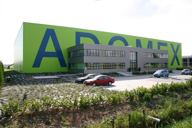 Bedrijfspand Adomex Uithoorn Groene hal