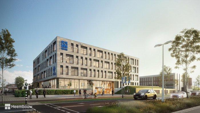 Impressie nieuwe hoofdkantoor NVM Utrecht door Heembouw Architecten