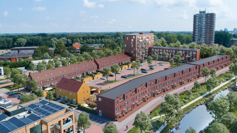 Impressie Singelbuurt Zoetermeer door Heembouw Architecten