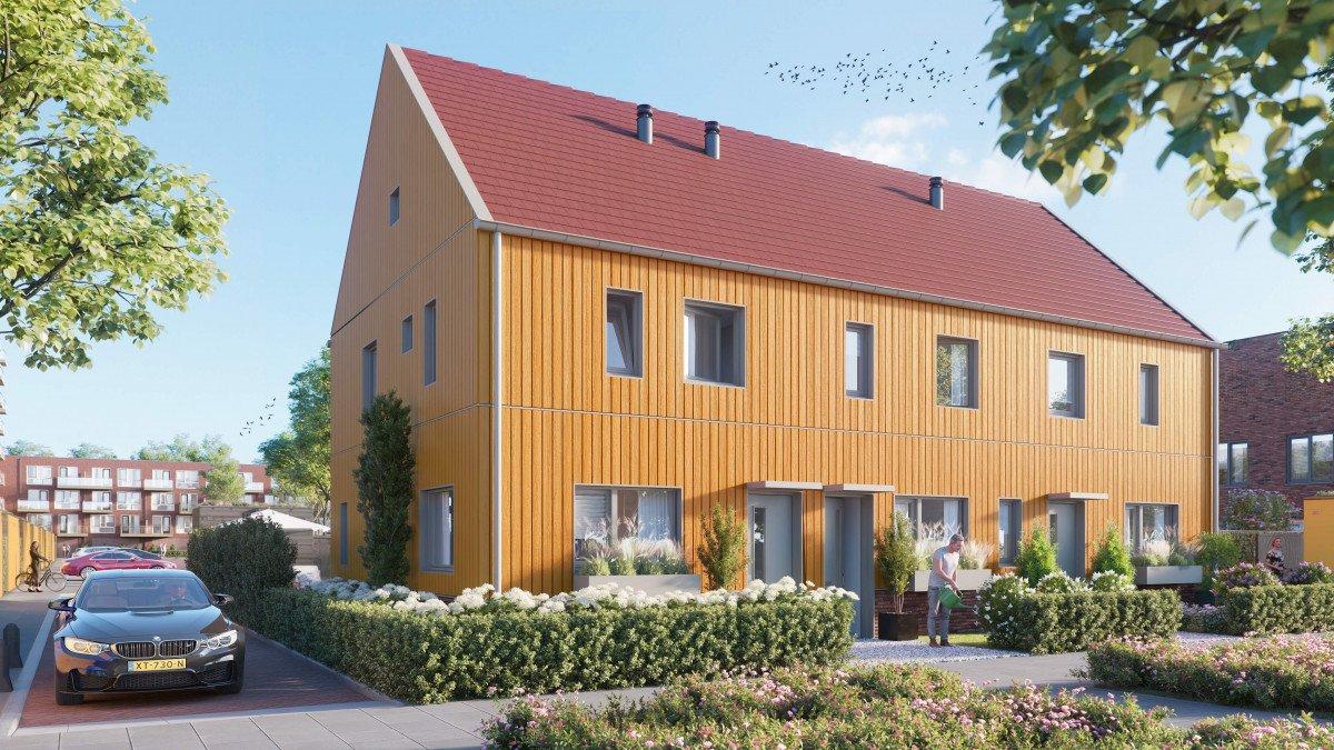 Heembouw Start verkoop 53 natuurinclusieve woningen Singelbuurt in Zoetermeer