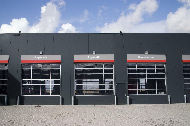 Huisvesting Renault Trucks Rotterdam