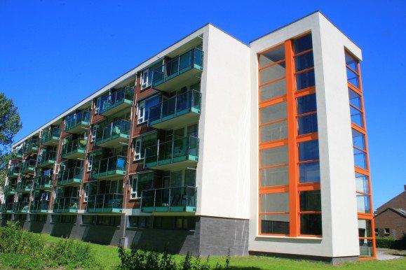 Groot onderhoud 72 woningen complex 8 Katwijk