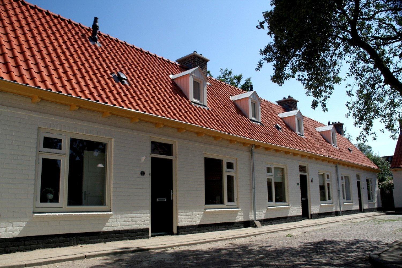 Groot onderhoud 16 woningen Antoniushof Noordwijkerhout