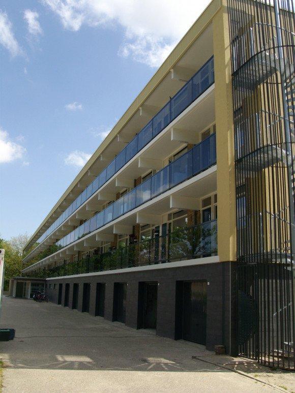 Groot onderhoud 42 woningen Stadhoudersdreef Katwijk