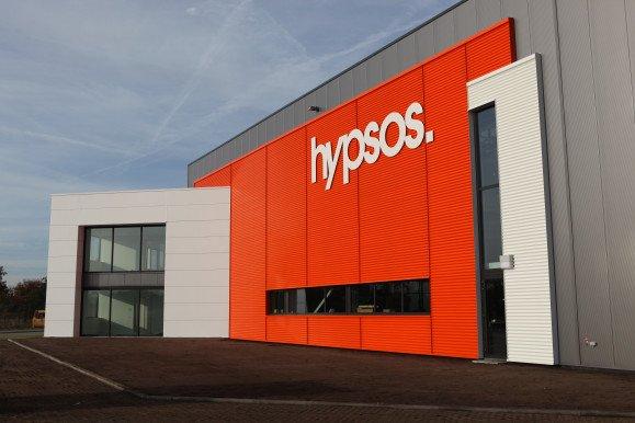 oplevering bedrijfspand Hypsos BV Soesterberg