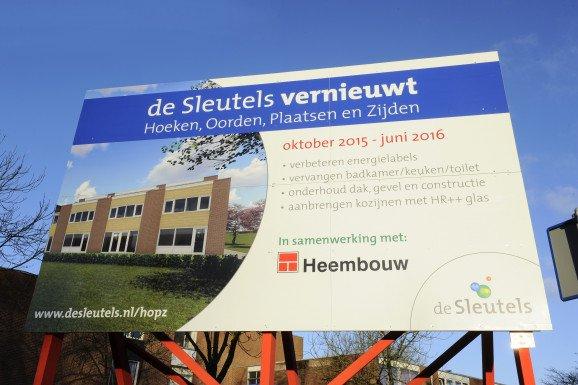 Groot onderhoud 77 woningen HOPZ Leiden
