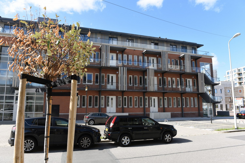 Transformatie Norfolk kantoor tot 38 huurwoningen Kranenburgweg Scheveningen