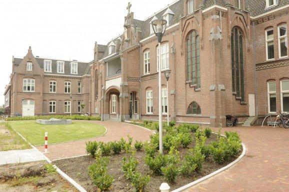Transformatie ziekenhuis naar luxe appartementen Paviljoen Zuid Haarlem