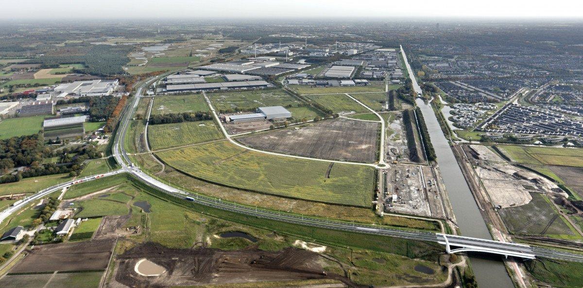 Luchtfoto Tilburg VossenbergWest 2