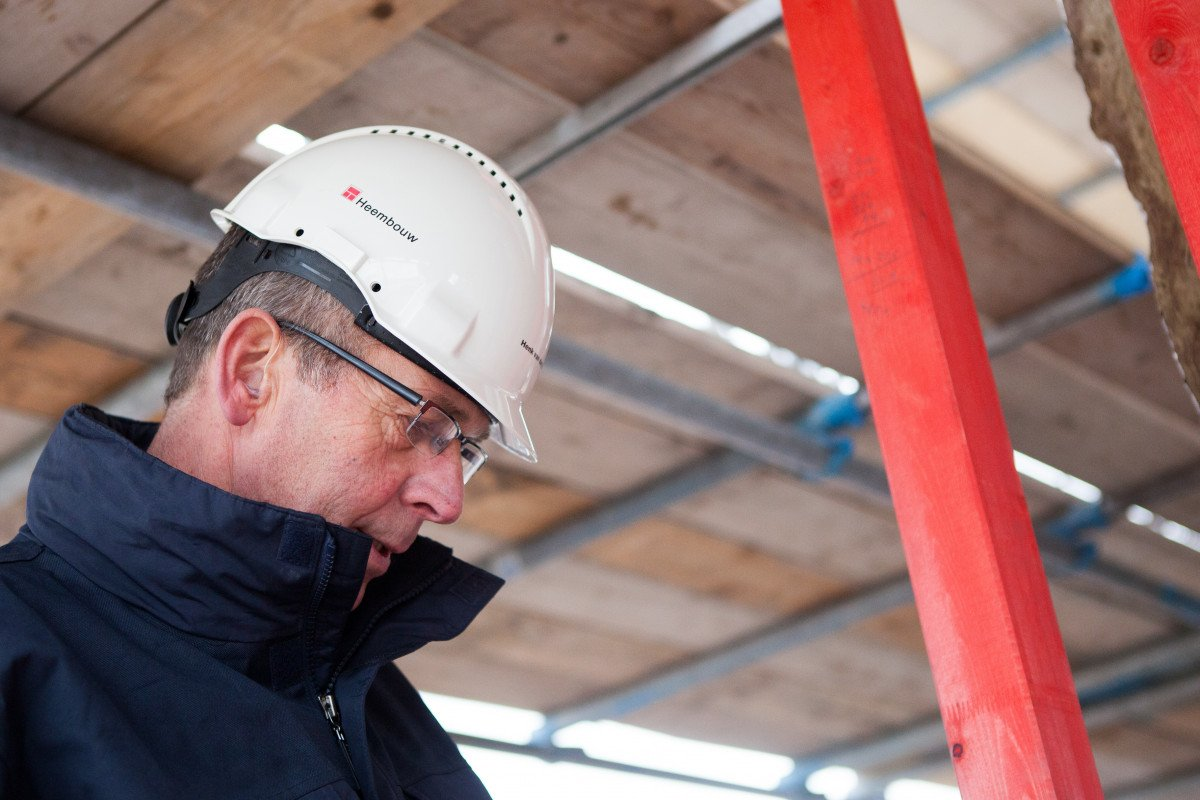 Henk van der Horst kwaliteitscontrole bouwplaats