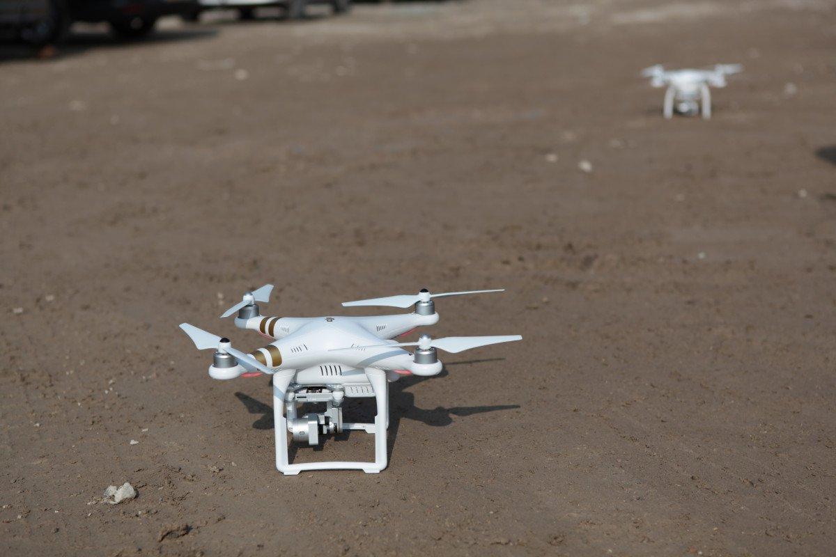 Drone pilot bouwplaats Jiffy Zwijndrecht ZXY Builders