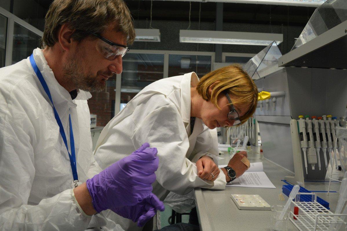 Een laboratorium met een kantoor laten ontwikkelen hoe pakt u dat aan?