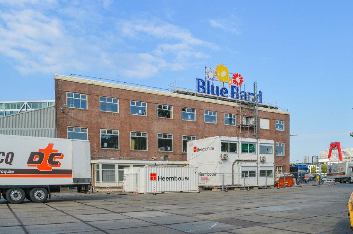 Renovatie Becel Gebouw Unilever Rotterdam uitvoering