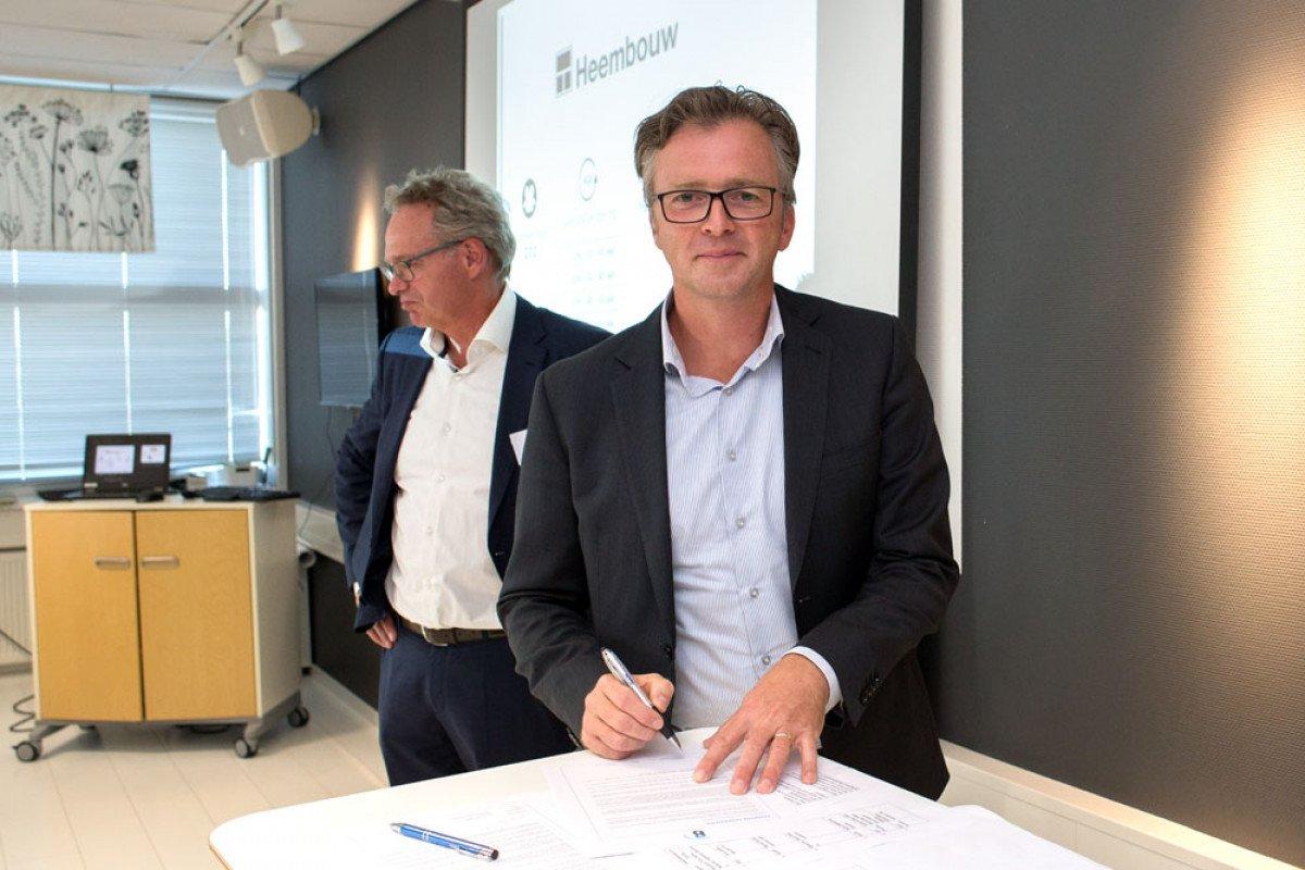 Heembouw ondertekent charter diversiteit Roland van Oostrom