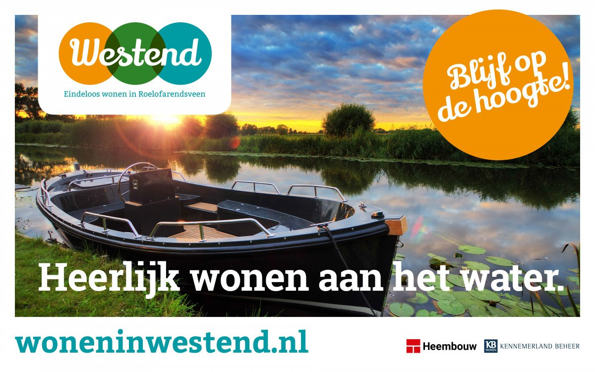 Uitnodiging informatie avond Westend Roelofarendsveen