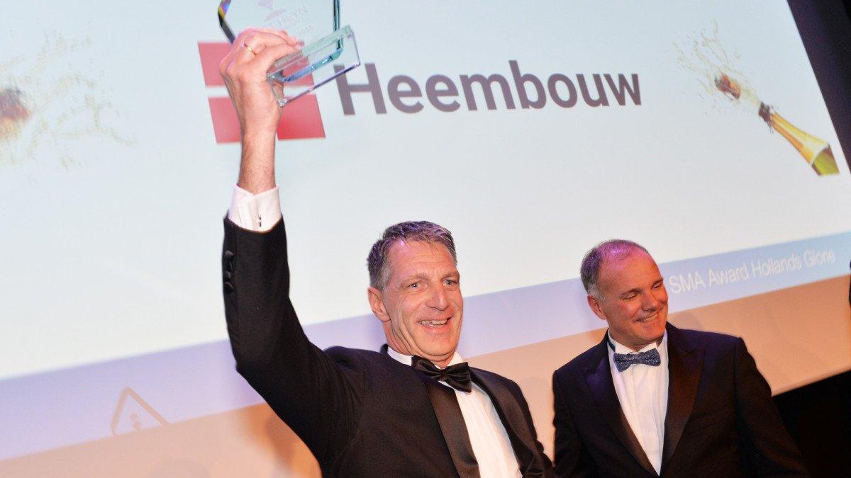 Rinus met award