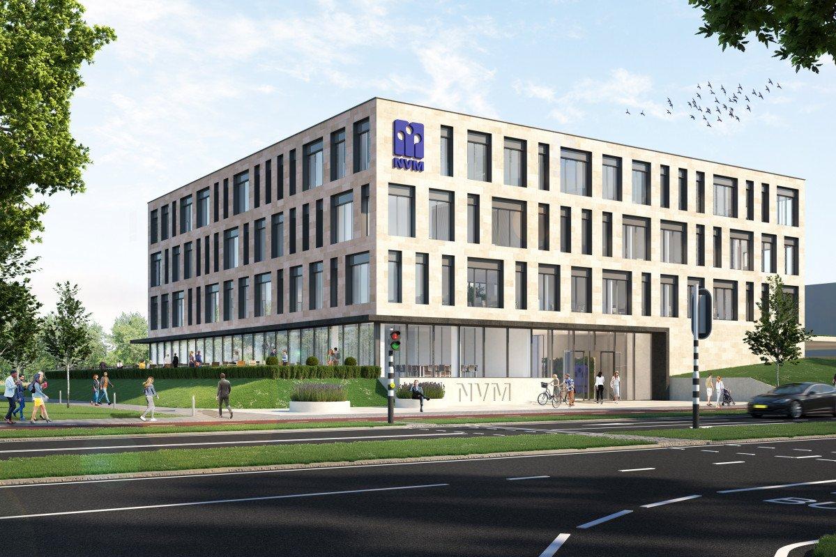 NVM Utrecht Heembouw Architecten Artist Impression