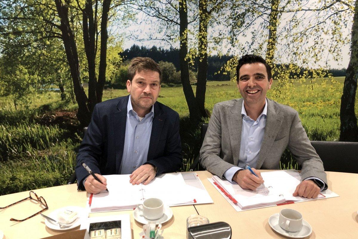Ondertekeningen realisatieovereenkomst Schoonhoven QuaWonen