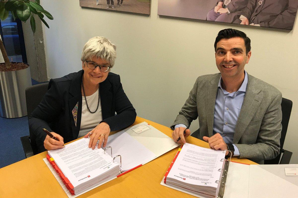 Prinsessenbuurt Leiden De Sleutels contractondertekening