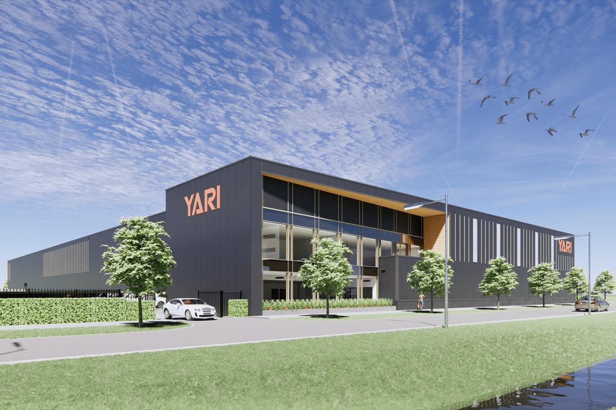 Vooraanzicht - Nieuw pand voor Yari in Berkel en Rodenrijs