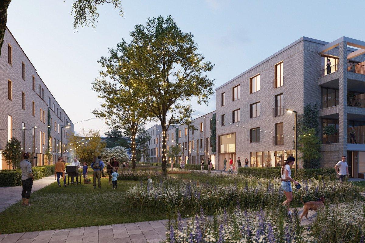 Timpaan en Heembouw winnen tender 179 woningen in Vlaardingen Westwijk