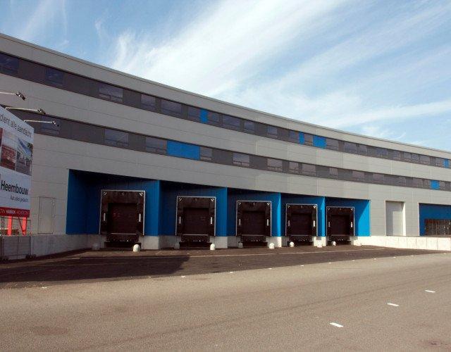 Nieuwbouw Distributiecentrum van Acht Eindhoven