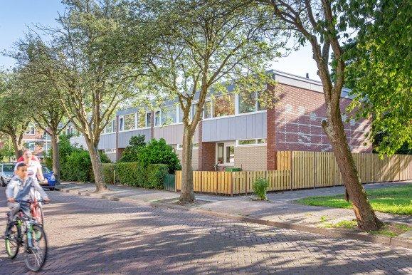 Eind resultaat verduurzaming en comfortverbetering 72 woningen Vivaldistraat Leiden