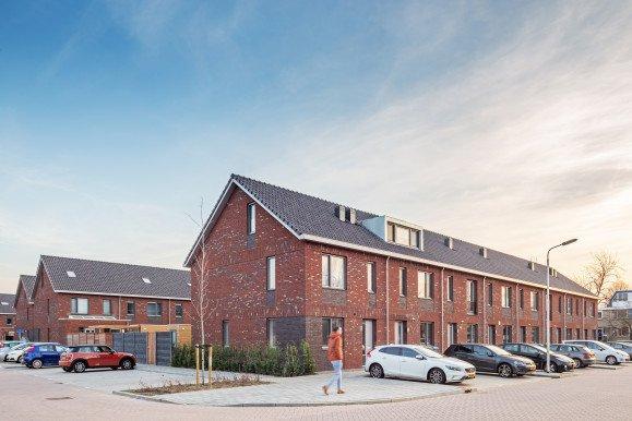 Nieuwbouw woonwijk De Marlot met 58 woningen ontwerp Heembouw Architecten
