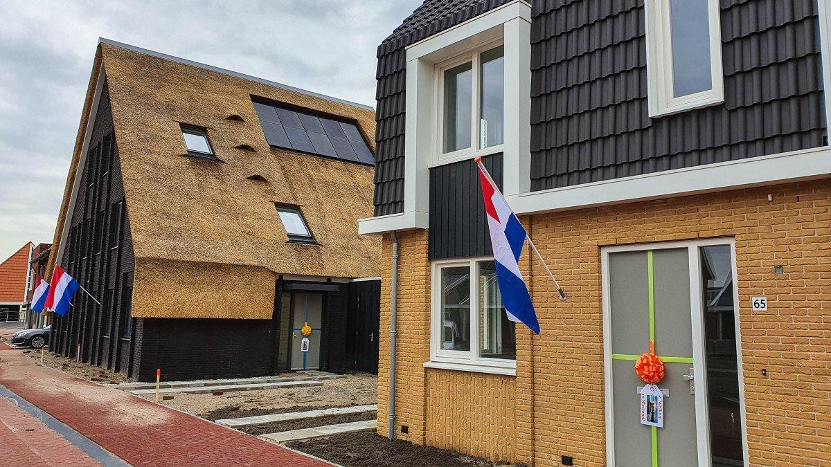 Heembouw gestart met opleveren 38 woningen Westend Roelofarendsveen