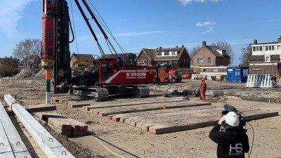 Heembouw proost digitaal met bewoners op start bouw Westend fase 3