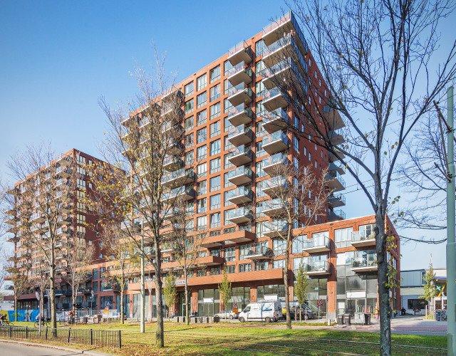 Nieuwbouw woontorens Wonen boven de Hoven Delft