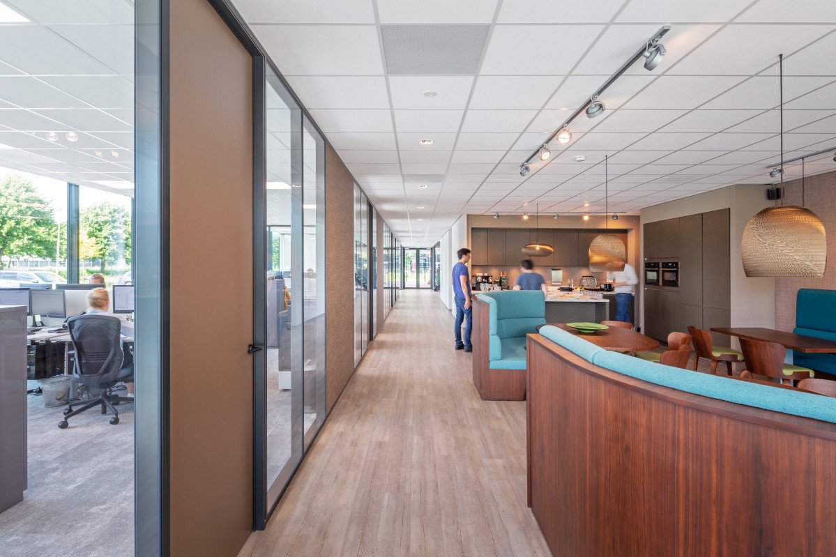 Interieur kantoor Safescan Zoetermeer