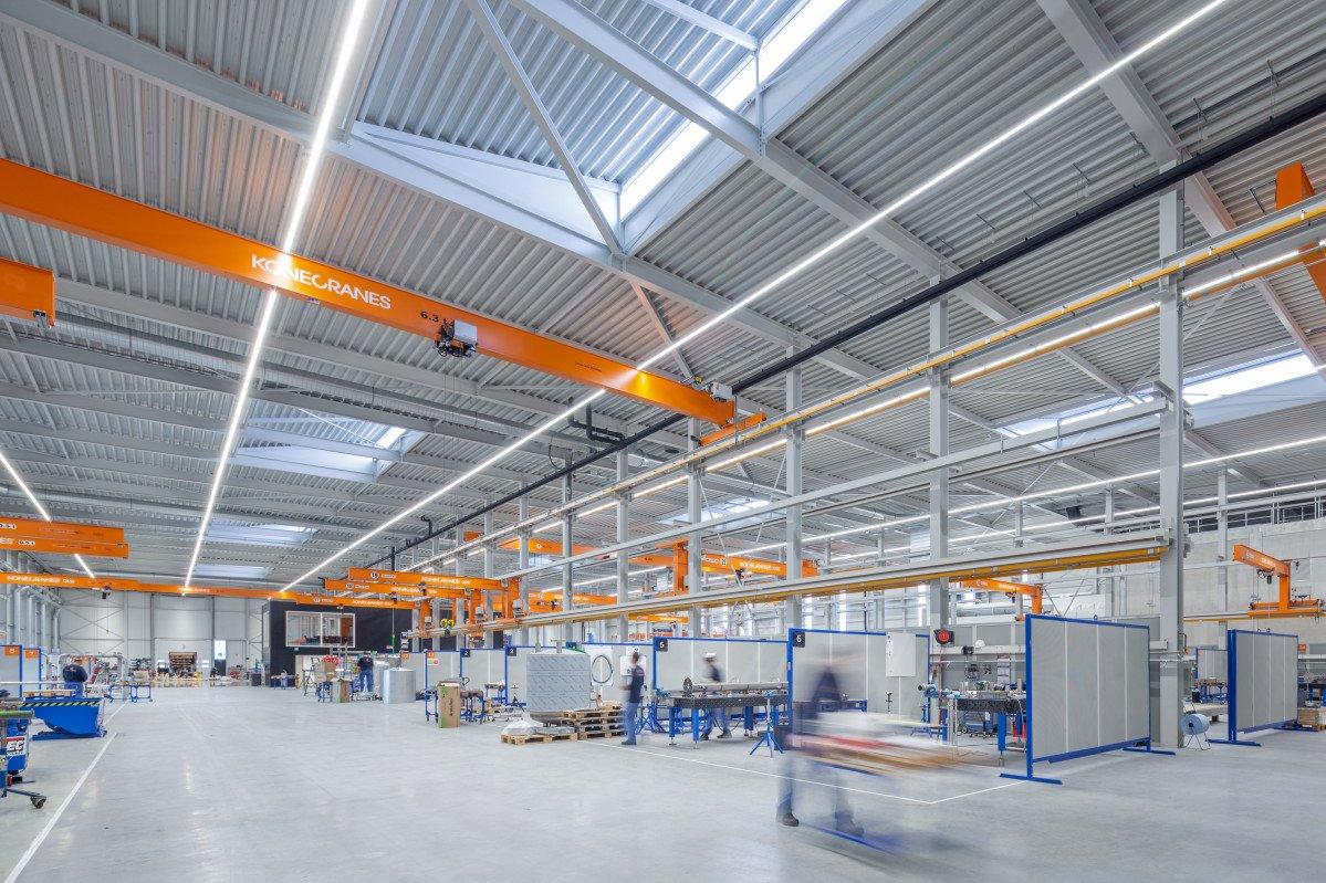 productielocatie Orangeworks Oss ontwerp Heembouw Architecten