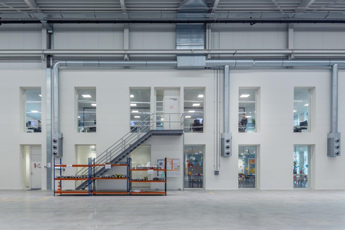 entree productielocatie Orangeworks Oss ontwerp Heembouw Architecten
