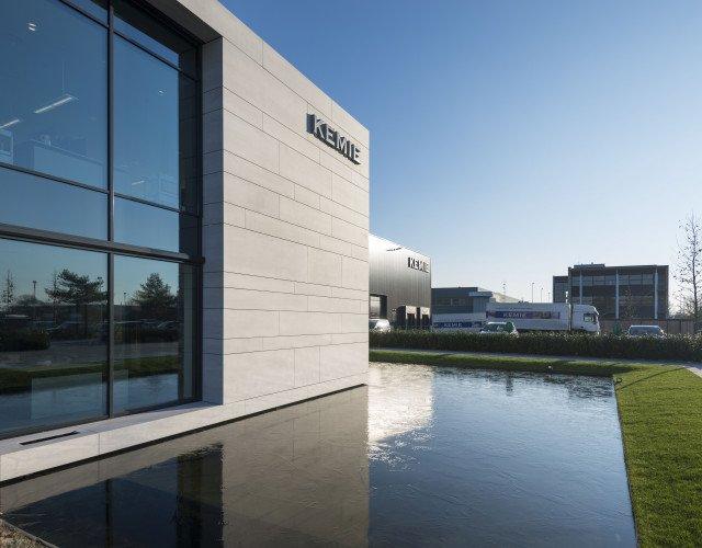 Nieuwbouw productiesite Kemie Helmond