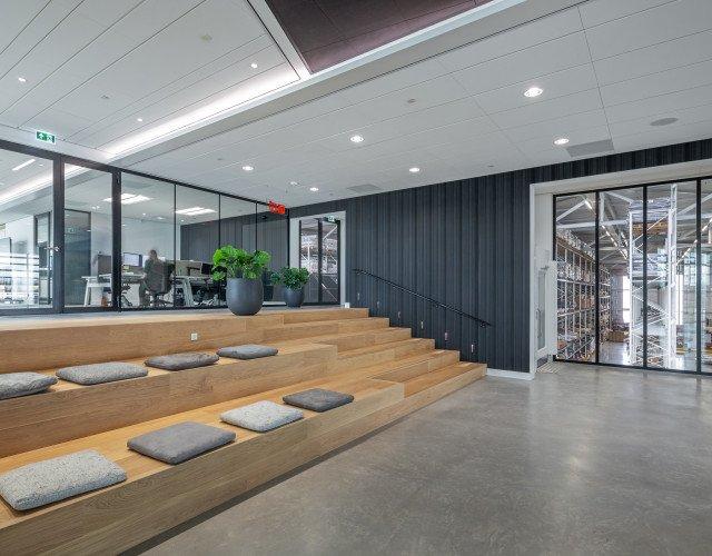 interieur kantoor Textaafoam Tilburg ontwerp Heembouw Architecten