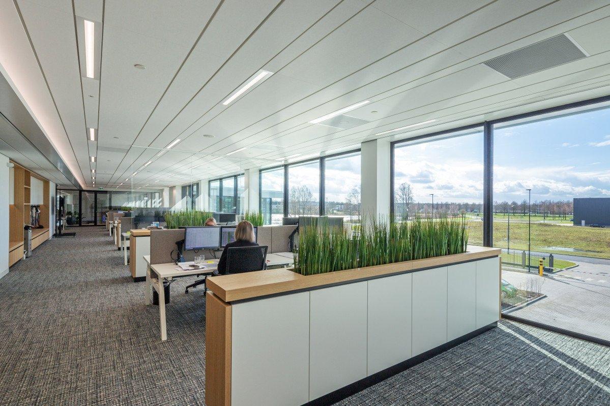 interieur kantoor Textaafoam Tilburg