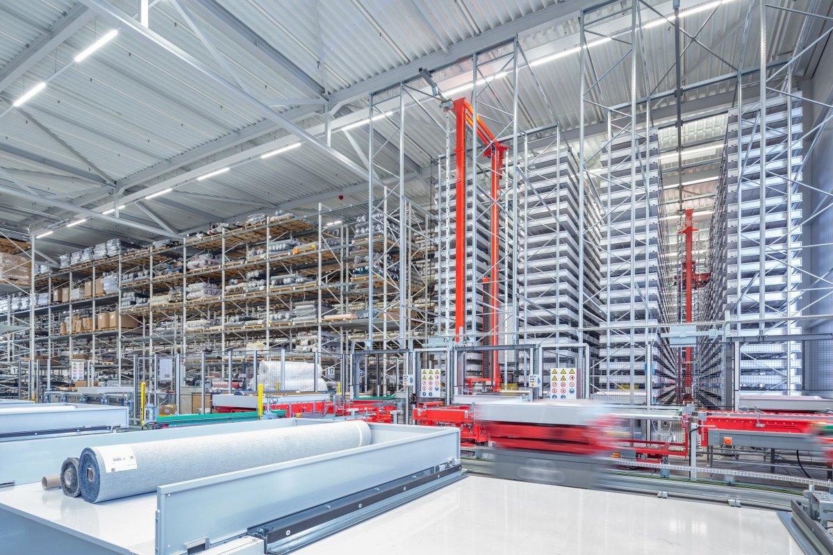 interieur bedrijfspand Textaafoam Tilburg