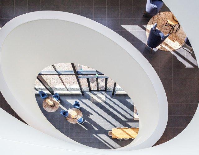 lichtkoepel productielocatie Applied Medical ontwerp Heembouw Architecten