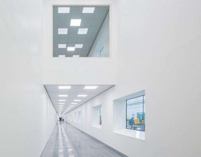 cleanroom Europees hoofdkantoor Applied Medical ontwerp Heembouw Architecten