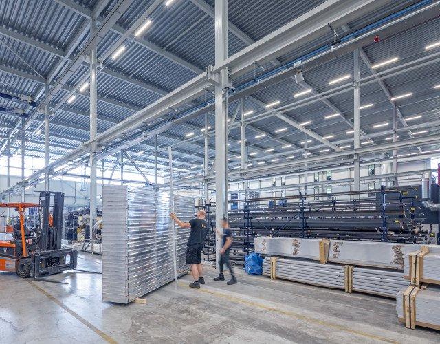 interieur productiefaciliteit Bosman van Zaal Aalsmeer