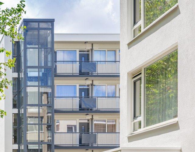 detail exterieur exterieur portiekwoning Alphons Ariënsstraat Schiedam Woonplus
