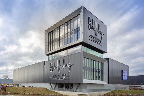 Exterieur bedrijfspand Schaffenburg ontwerp Heembouw Architecten