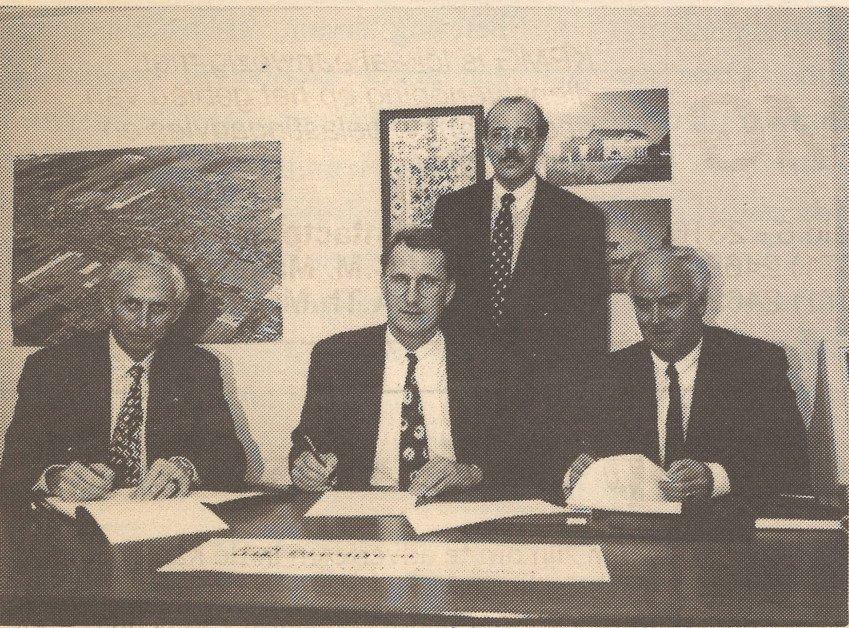 1994 uitbreiding werkgebied Heembouw Bergschenhoek
