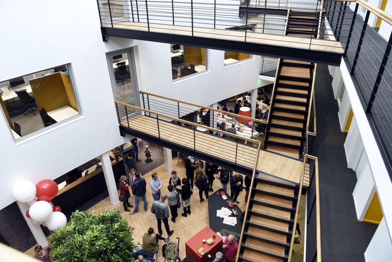 Opening vernieuwde kantoor Heembouw
