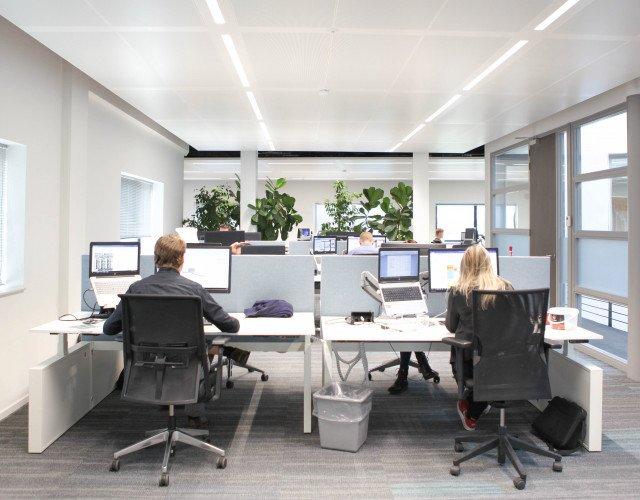 Interieur duurzaam kantoor Heembouw Roelofarendsveen