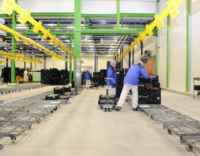Uitbreiding bedrijfshuisvesting Heemskerk fresh & easy Rijnsburg