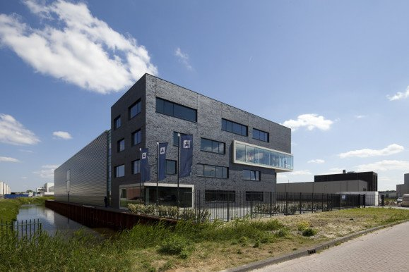 nieuwbouw kantoor Scandia Stores Spijkenisse