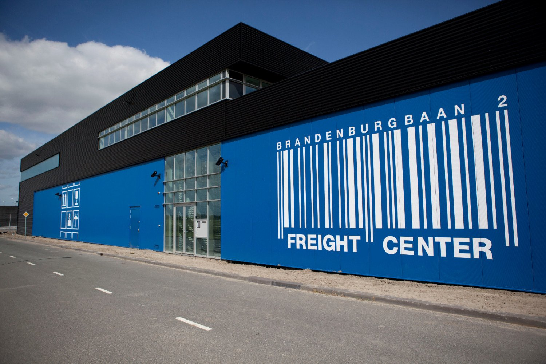 Nieuwbouw vrachtgebouw Freight center Rotterdam The Hague Airport